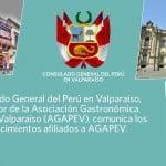 """Festival Gastronómico Peruano en por el del """"Día de la Canción Criolla"""" en Valparaiso"""