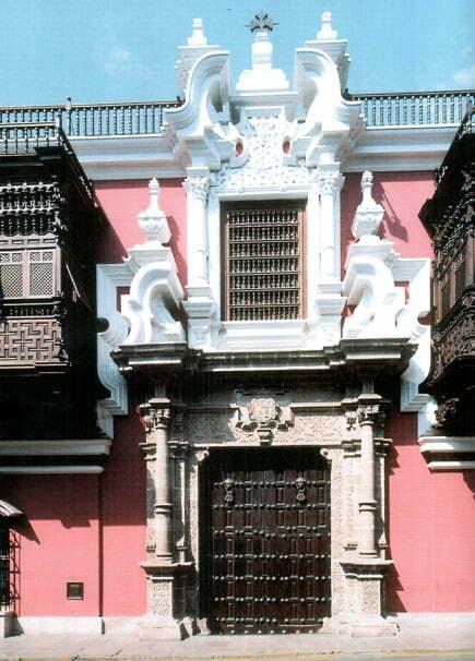 Una visita al palacio de Torre Tagle