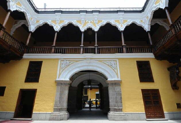Una visita al Palacio Torre Tagle