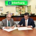 AFSDP firma renovación de convenio con Interbank