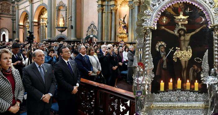OCTUBRE 11, MISA EN HOMENAJE AL SEÑOR DE LOS MILAGROS 2018.