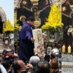 Homenaje a la Sagrada Imagen del Señor de los Milagros,