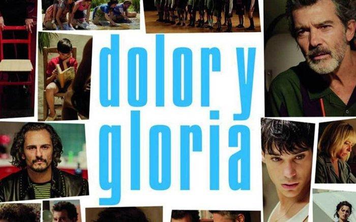 DOLOR Y GLORIA DE ALMODOVAR.