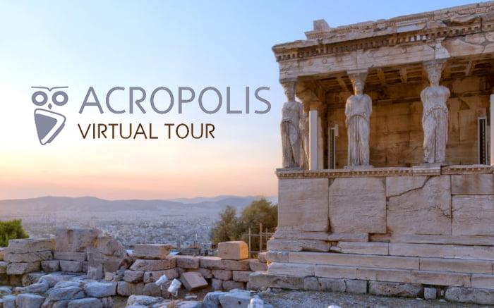 TOUR VIRTUAL A ACRÓPOLIS, GRECIA.