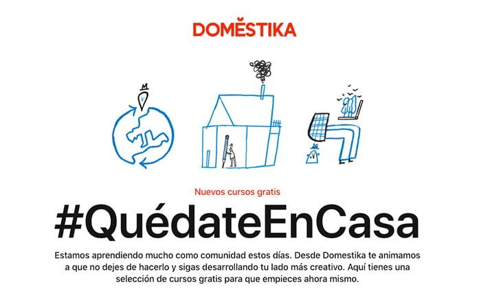 DOMESTIKA, TALLERES DE ARTES Y NUEVOS HABILIDADES DIGITALES