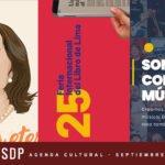 AGENDA CULTURAL SEPTIEMBRE 2: CHABUCA ETERNA, MUSICLASES, FERIA DEL LIBRO Y MÁS.