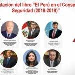 El Perú en el Consejo de Seguridad (2018-2019)