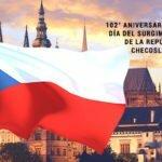 102° Aniversario del Día del Surgimiento de la República Checoslovaca.