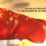 República Popular China, 71° Aniversario de su fundación.