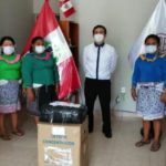 AFSDP Entrega de concentradores de Oxigeno a Comunidades Amazónicas.