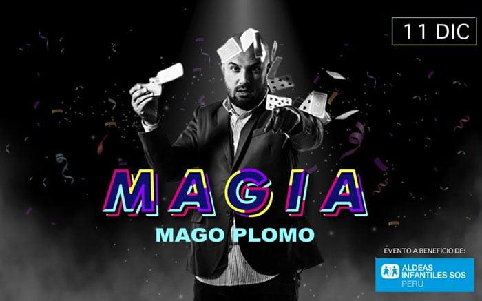 MAGIA - MAGO PLOMO.