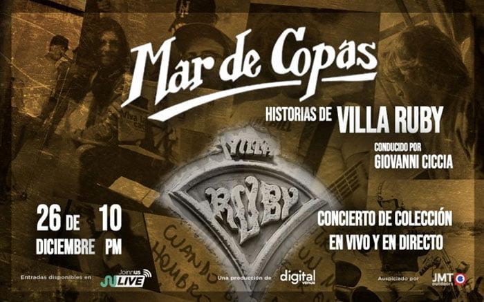 MAR DE COPAS: HISTORIAS DE VILLA RUBY.