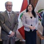 Reunión de la AFSDP con nuestra Ministra de RREE.