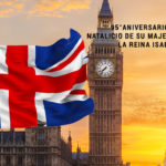 95° aniversario del natalicio de su majestad la Reina Isabel II.