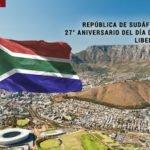 27° aniversario del día de la Libertad de la República de Sudáfrica.