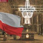 230° aniversario del la Promulgación de la Primera Constitución de Polonia.
