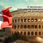 Italia, 75° aniversario de su proclamación como República.
