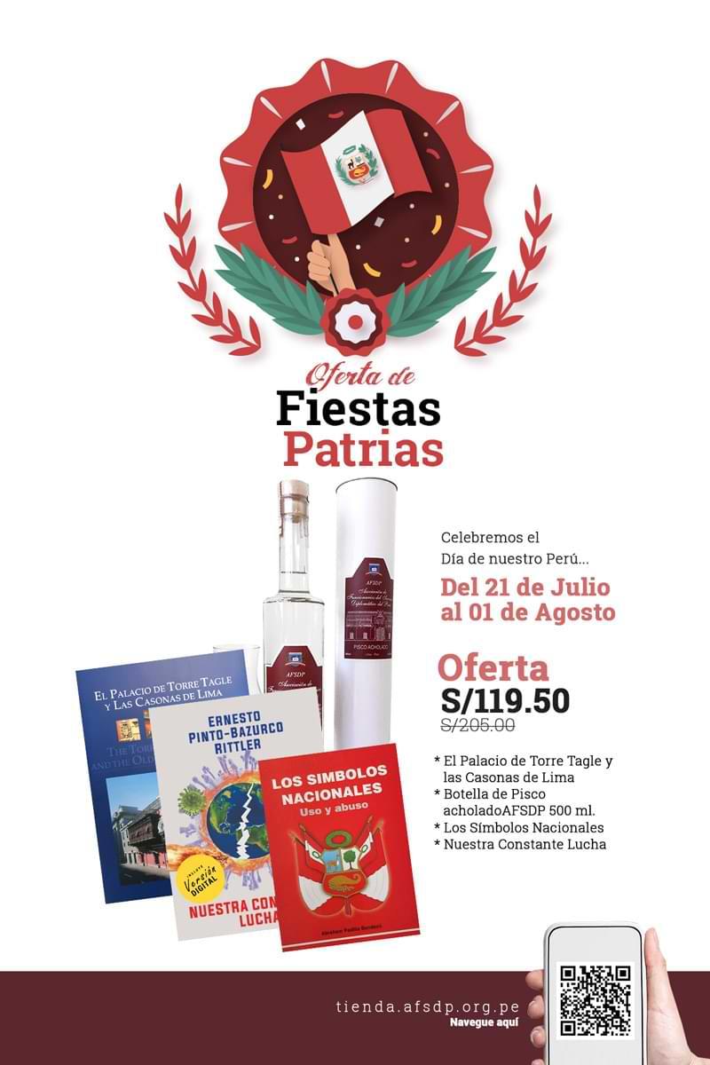 AFSDP Oferta de Fiestas Patrias