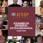 AFSDP, Asamblea General Extraordinaria Junio 30, 2021