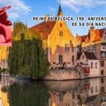 Reino de Bélgica, 190° aniversario de su Día Nacional.