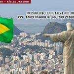 República Federativa de Brasil, 199° aniversario de su Independencia.