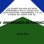 Junín, 196° aniversario de fundación.