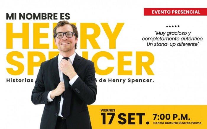 MI NOMBRES ES HENRY SPENCER
