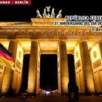 República Federal de Alemania, 31° Aniversario del Día de la Unidad Alemana.